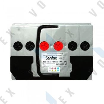Аккумулятор Sanfox 60Ah R+ 480A