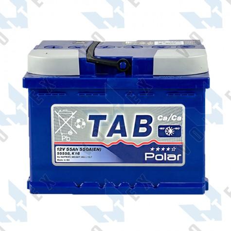 Аккумулятор Tab Polar Blue 55Ah L+ 550A
