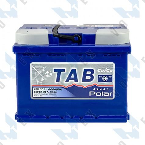 Аккумулятор Tab Polar Blue 60Ah R+ 600A