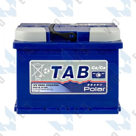 Аккумулятор Tab Polar Blue 66Ah R+ 620A
