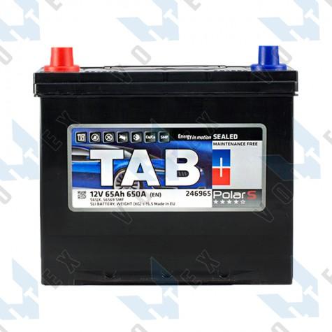 Аккумулятор Tab Polar S 65Ah JL+ 650A