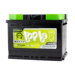 Аккумулятор Topla Start-Stop AGM 60Ah R+ 680A