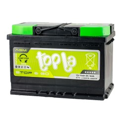 Аккумулятор Topla Start-Stop AGM 70Ah R+ 760A