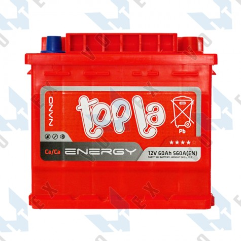 Аккумулятор Topla Energy 60Ah R+ 560A