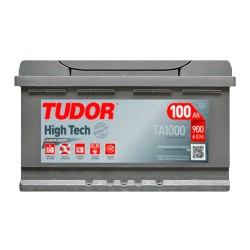Аккумулятор Tudor High-Tech 100Ah R+ 900A
