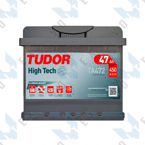 Аккумулятор Tudor High-Tech 47Ah R+ 450A