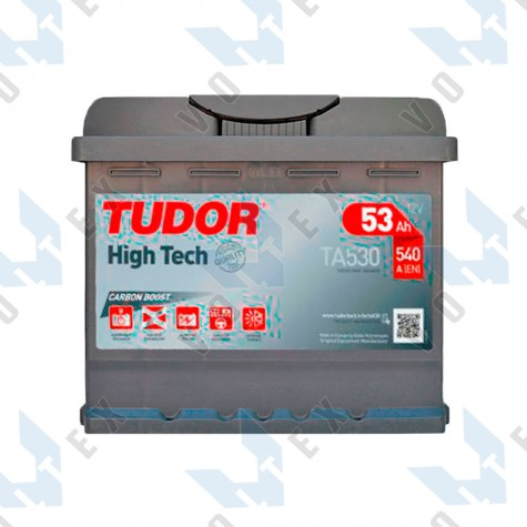 Аккумулятор Tudor High-Tech 53Ah R+ 540A