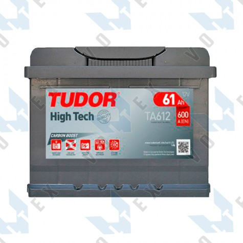 Аккумулятор Tudor High-Tech 61Ah R+ 600A