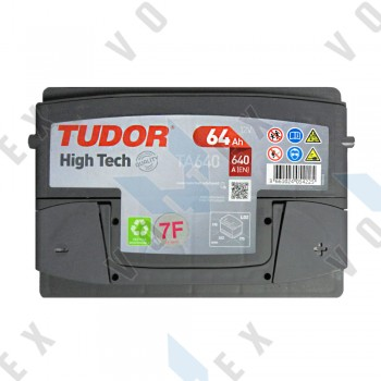 Аккумулятор Tudor High-Tech 64Ah R+ 640A