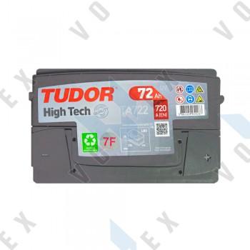 Аккумулятор Tudor High-Tech 72Ah R+ 720A