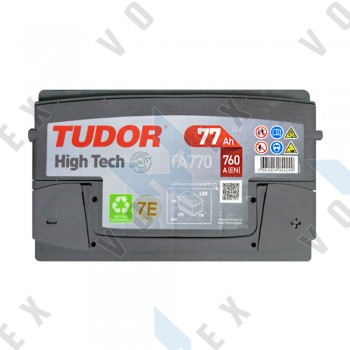 Аккумулятор Tudor High-Tech 77Ah R+ 760A