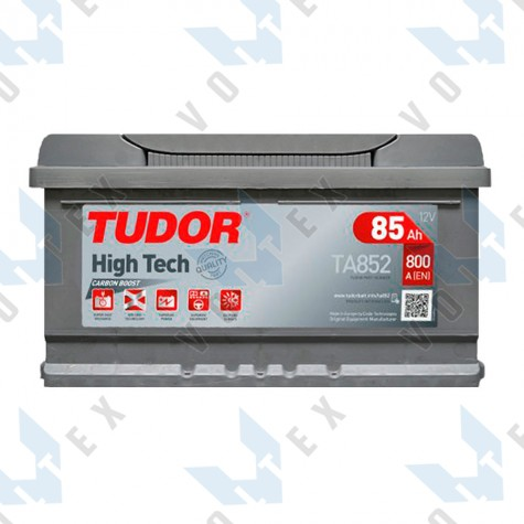 Аккумулятор Tudor High-Tech 85Ah R+ 800A