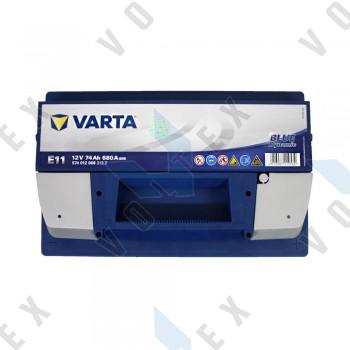 Аккумулятор Varta Blue Dynamic 74Ah R+ 680A