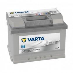 Аккумулятор Varta Silver Dynamic 61Ah R+ 600A (низкобазовый)