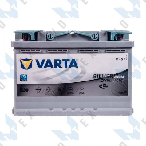 Аккумулятор Varta Silver Dynamic AGM 70Ah R+ 760A