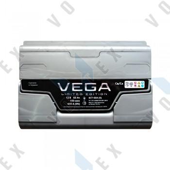 Аккумулятор Vega Limited Edition 60Ah R+ 600A
