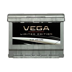 Аккумулятор Vega Limited Edition 65Ah R+ 640A