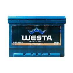 Аккумулятор Westa Premium 60Ah R+ 600A (низкобазовый)