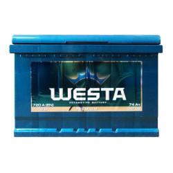Аккумулятор Westa Premium 74Ah R+ 720A