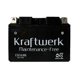 Мото аккумулятор Kraftwerk YTZ12-BS 11Ah
