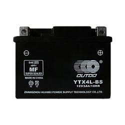 Мото аккумулятор Outdo YTX4L-BS 4 Ah