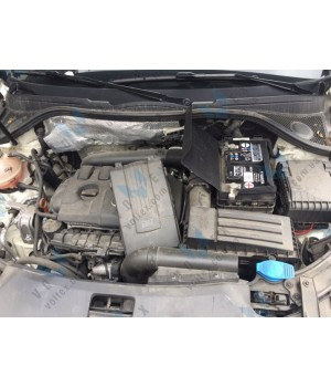 Установка аккумулятора на автомобиль Audi Q3 2.0 TFSI
