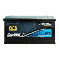 Аккумулятор Zap Start-Stop EFB Graphite Carbon 100Ah R+ 800A