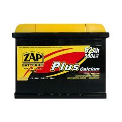 Аккумулятор Zap Plus Calcium 62Ah L+ 580A