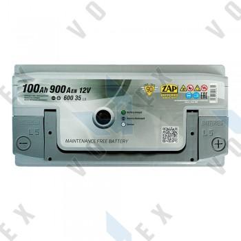 Аккумулятор Zap Silver Premium 100Ah R+ 900A