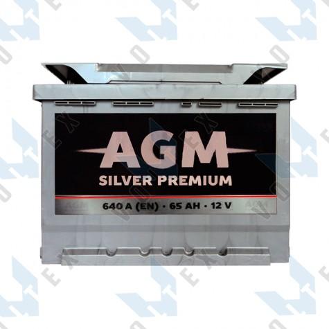 Аккумулятор AGM Silver Premium 65Ah L+ 640A