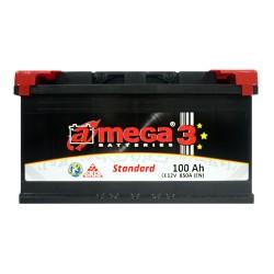 Аккумулятор A-Mega Standard 100Ah R+ 850A