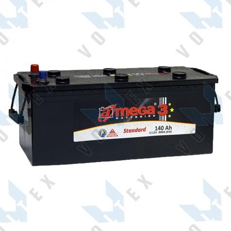 Аккумулятор A-Mega Standard 140Ah (3) 800A