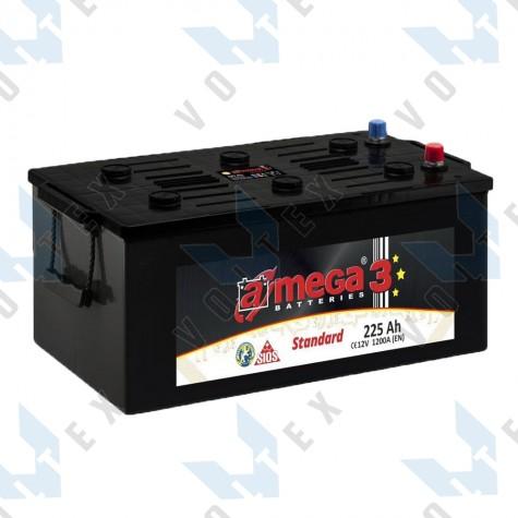 Аккумулятор A-Mega Standard 225Ah (3) 1200A