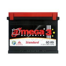 Аккумулятор A-Mega Standard 60Ah L+ 540A