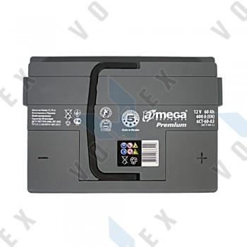 Аккумулятор A-Mega Premium 60Ah R+ 600A