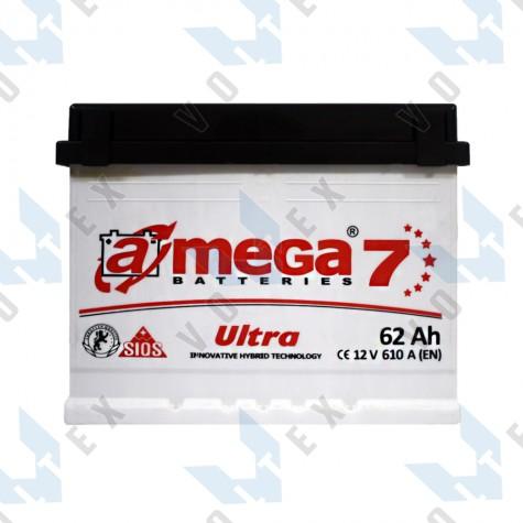 Аккумулятор A-Mega Ultra 62Ah L+ 610A