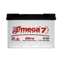 Аккумулятор A-Mega Ultra 75Ah R+ 790A