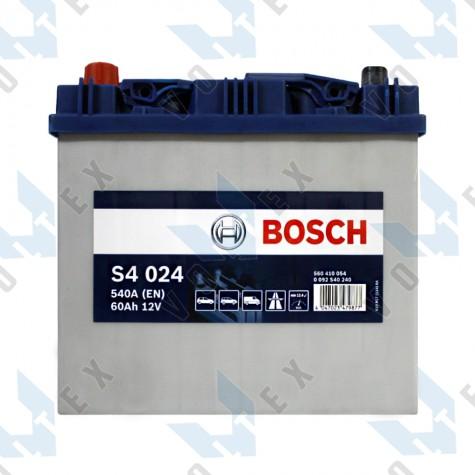 Аккумулятор Bosch S4 60Ah JL+ 540A