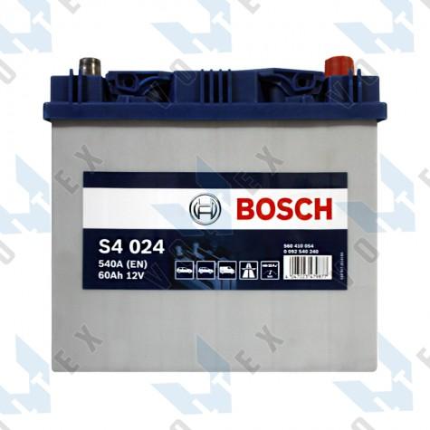 Аккумулятор Bosch S4 60Ah JR+ 540A