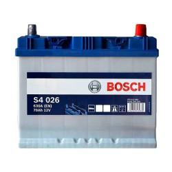Аккумулятор Bosch S4 70Ah JR+ 630A