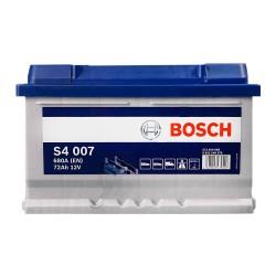 Аккумулятор Bosch S4 72Ah R+ 680A (низкобазовый)