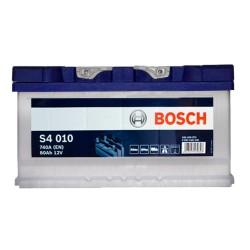 Аккумулятор Bosch S4 80Ah R+ 740A (низкобазовый)