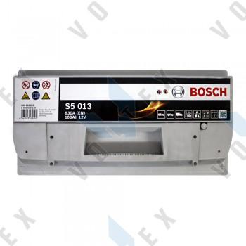 Аккумулятор Bosch S5 100Ah R+ 830A
