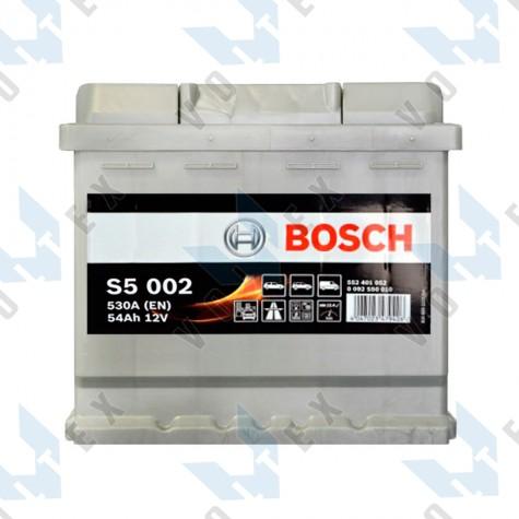 Аккумулятор Bosch S5 54Ah R+ 530A