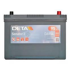 Аккумулятор Deta Senator 3 Carbon Boost Asia 95Ah JR+ 800A