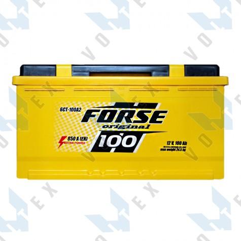 Аккумулятор Forse Original 100Ah R+ 850A