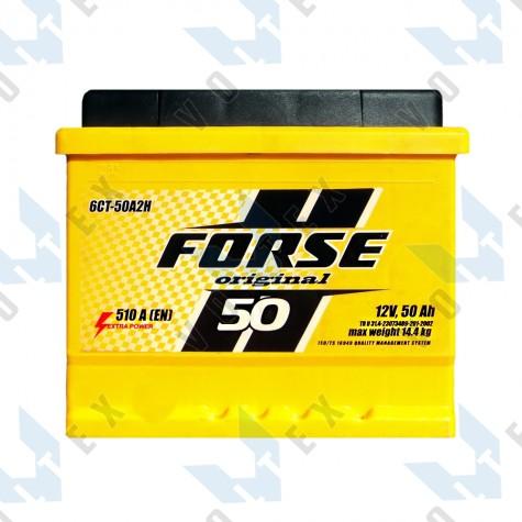 Аккумулятор Forse Original 50Ah R+ 510A (низкобазовый)