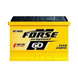 Аккумулятор Forse Original 60Ah R+ 600A (низкобазовый)
