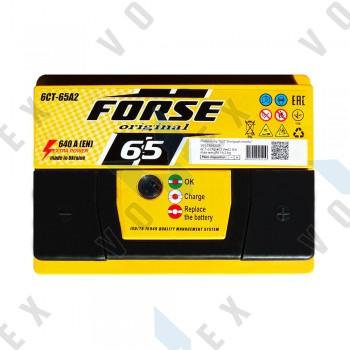 Аккумулятор Forse Original 65Ah R+ 640A