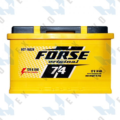 Аккумулятор Forse Original 74Ah L+ 720A